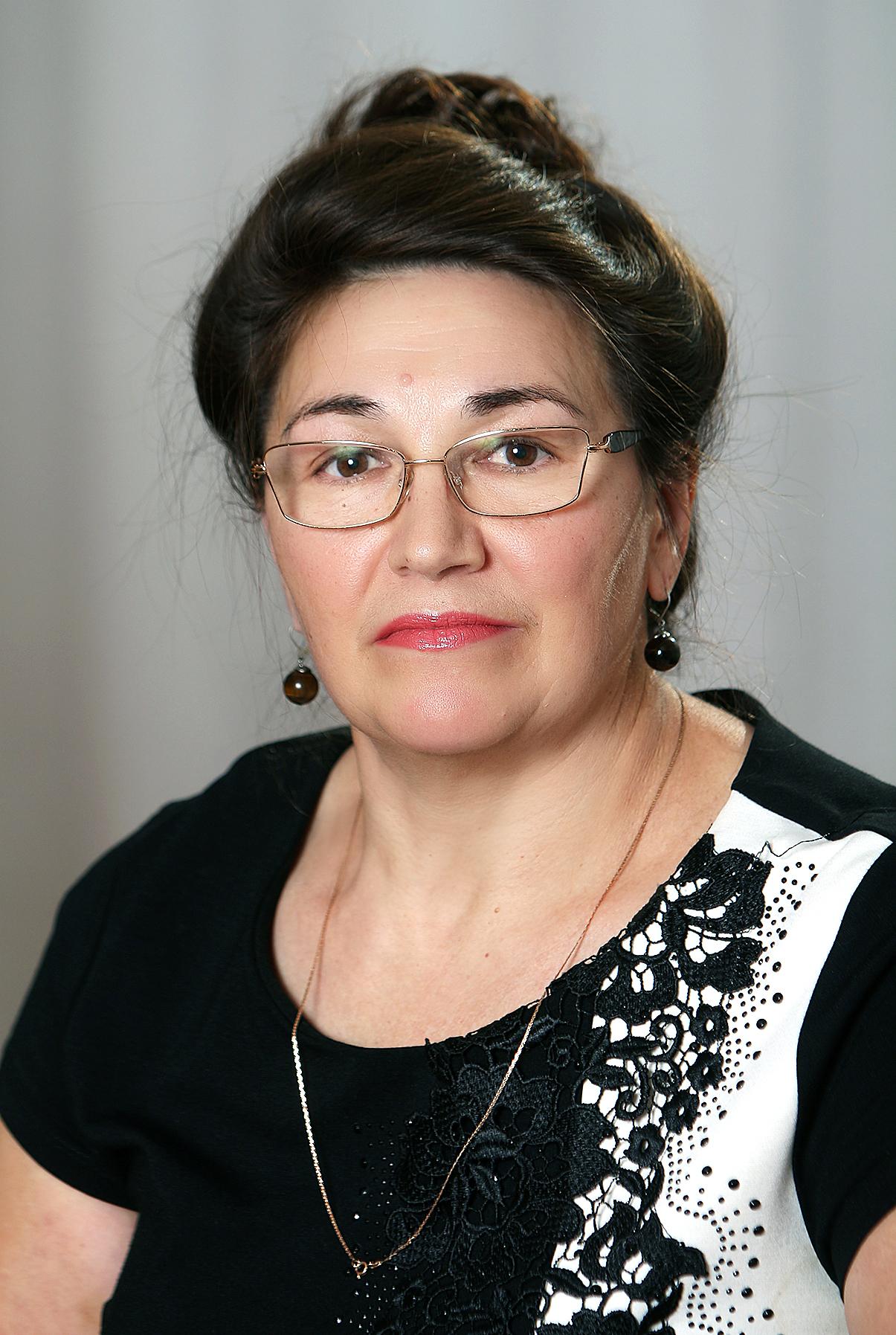 Бадгутдинова Назибя Хамзиевна